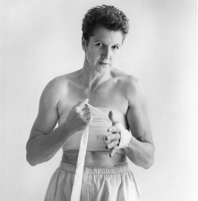 Пеґі Шоу в образі для вистави «Ти геть як мій батько», фото Еви Вайс (1993)